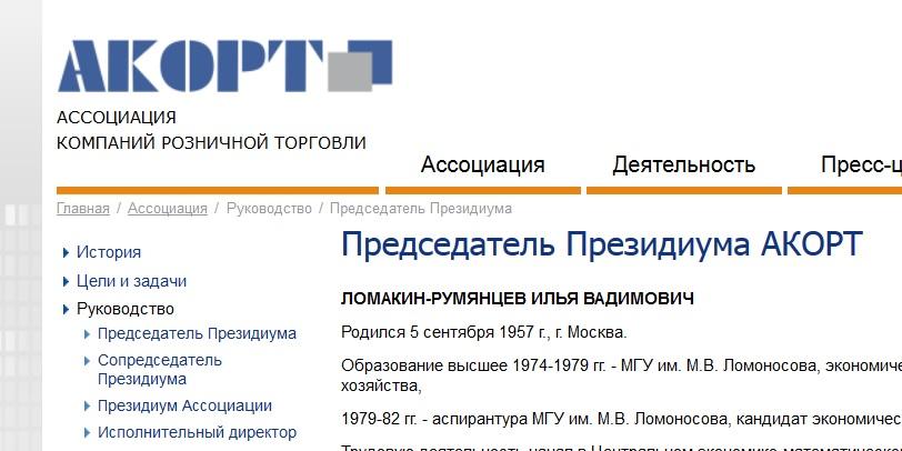 Сайт ассоциации компаний розничной торговли создания сайта библиотеки